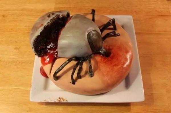 世界上最恶心的蛋糕,不行了我快吐了